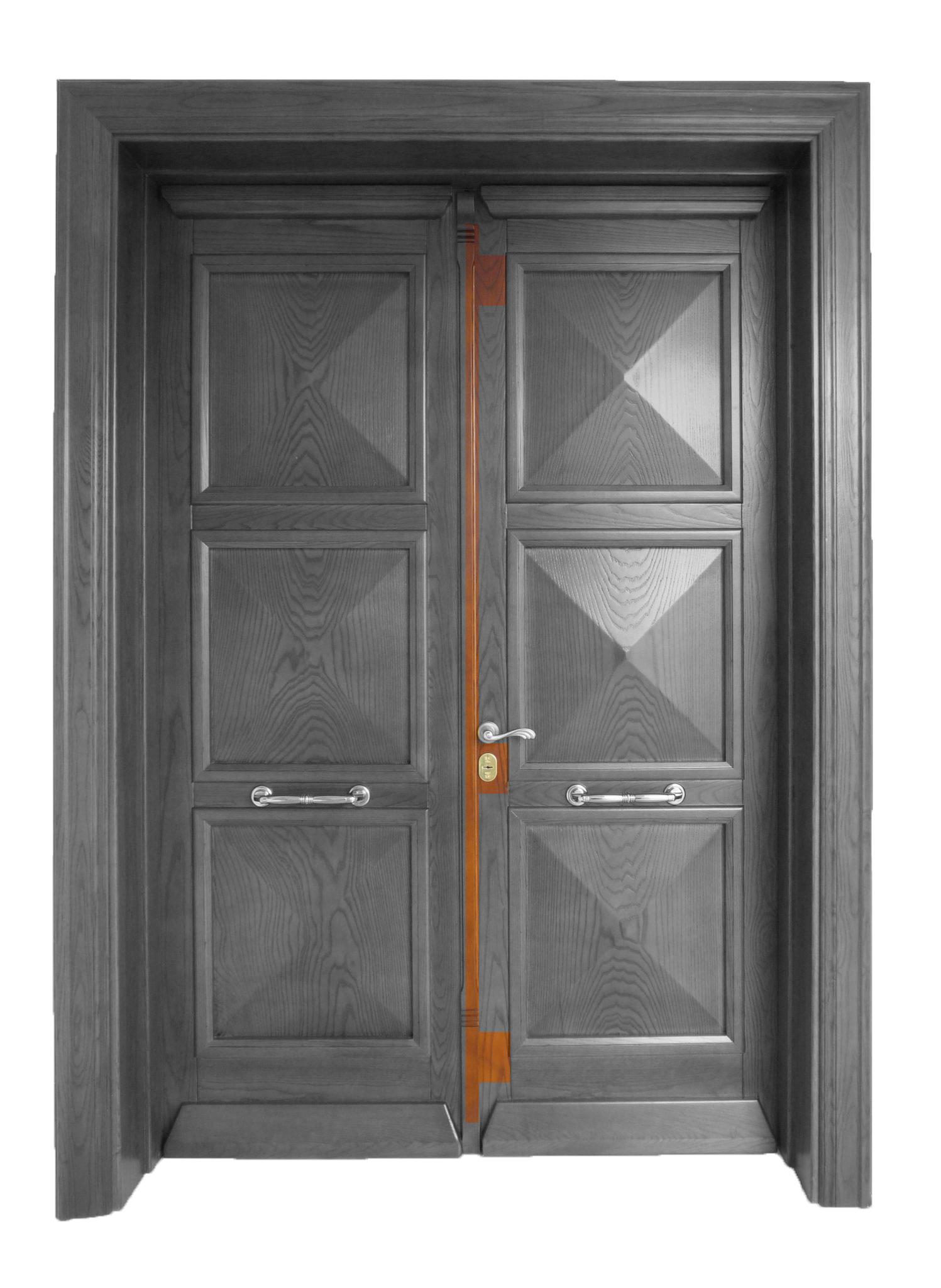 Ξύλινα κουφώματα - Κλειδαριές ασφαλείας σε ξύλινη πόρτα
