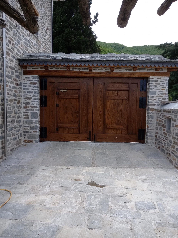Ξύλινη εσωτερική πόρτα (2)